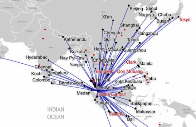 mang duong bay air asia